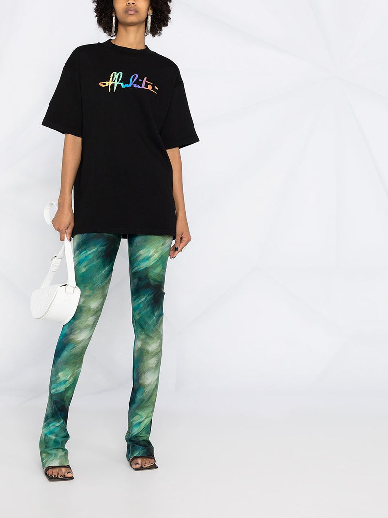 OFF WHITE WOMEN RAINBOW OFF WHITE TOMBOY TEE