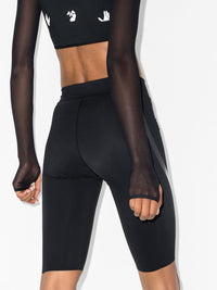 OFF-WHITE WOMEN ATHLEISURE BIKER SHORTS