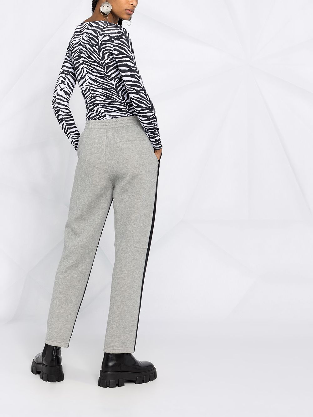 MM6 WOMEN HALF SUIT HALF SWEAT TROUSER