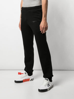OFF-WHITE MEN UNFINISHED SHORT SWEATPANT