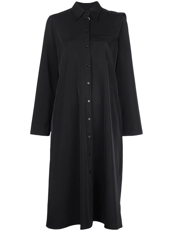 MM6 WOMEN NECK TIE LONG SHIRT