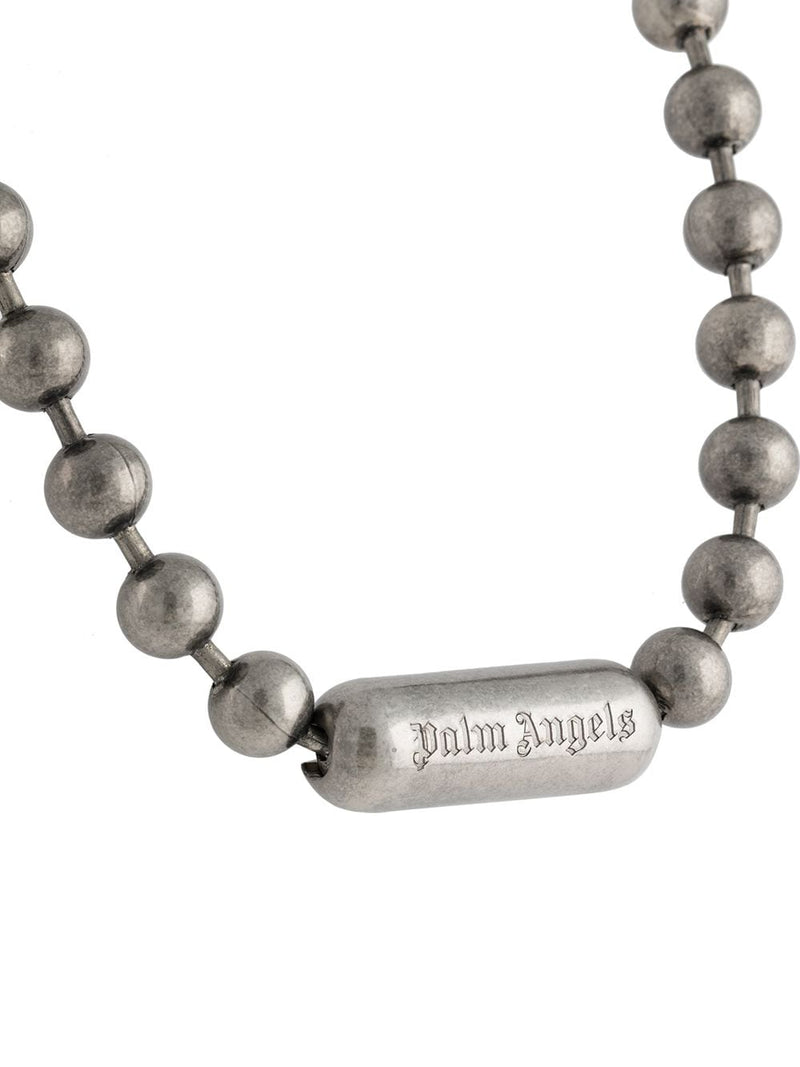 PALM ANGELS BALLS CHAIN NECKLACE