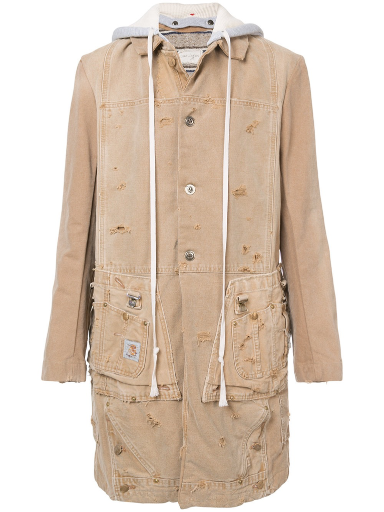 GREG LAUREN MEN CARHARTT MODERN ARTIST COAT