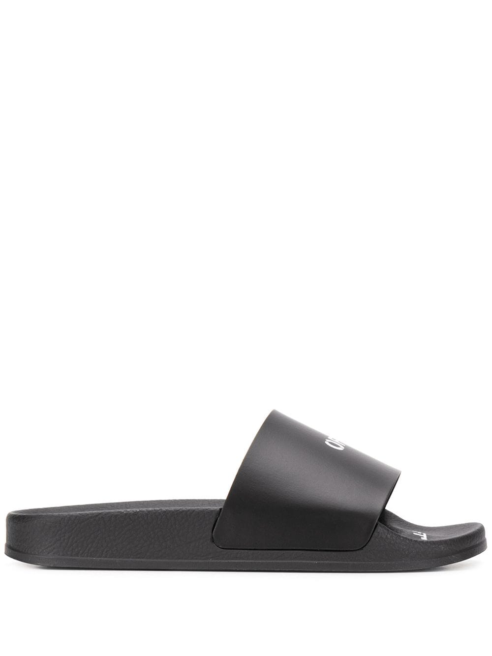 OFF-WHITE WOMEN POOL SLIDER BLACK NO COLOR