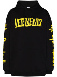 VETEMENT UNISEX WORLD TOUR VETEMENTS HOODIE