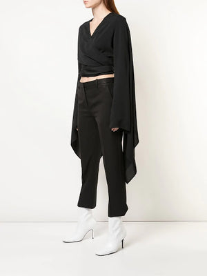 RICK OWENS WOMEN WRAPPED JACKET