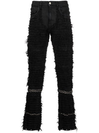 1017 ALYX 9SM MEN STUDDED BLACKMEANS 6 POCKET JEANS