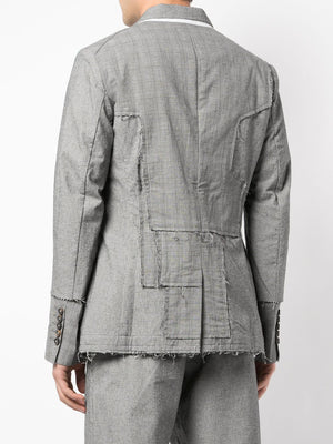 ZIGGY CHEN MEN RAW EDGE JACKET