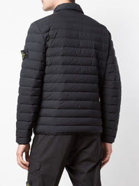 STONE ISLAND MEN LOOM WOVEN DOWN CHAMBERS STRETCH NYLON-TC JACKET