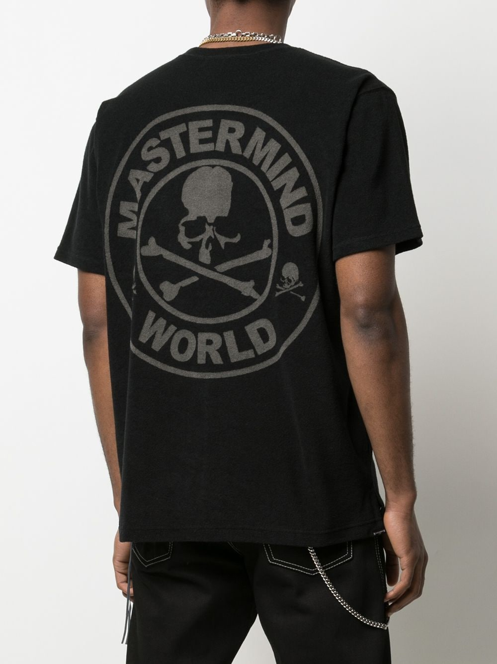 MASTERMIND WORLD MEN REGULAR FIT TOWEL T-SHIRT