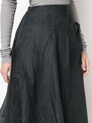 MARC LE BIHAN WOMEN SILK SKIRT