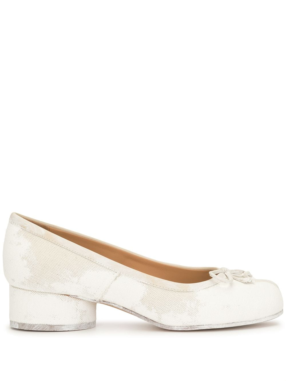 MAISON MARGIELA WOMEN TABI LOW HEEL FLAT