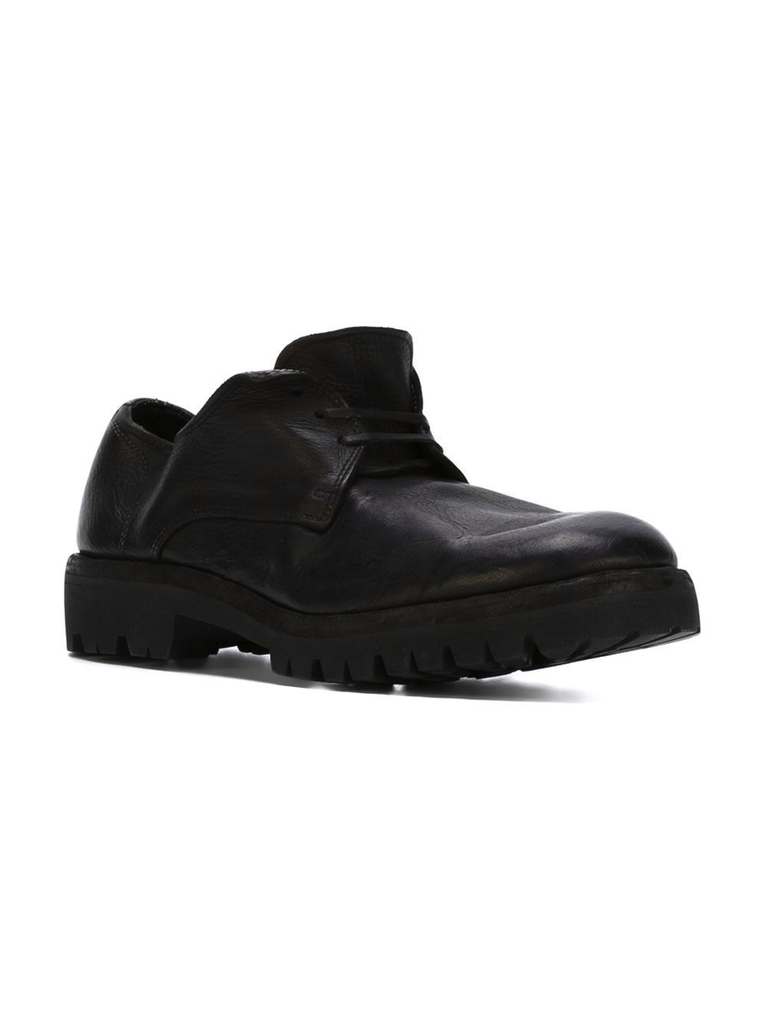 GUIDI 792V MEN DERBY WITH VIBRAM SOLE