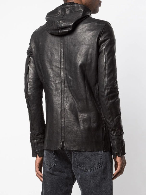 GUIDI X LAYER-0 MEN SOFT HORSE LEATHER CBM CABAN JACKET