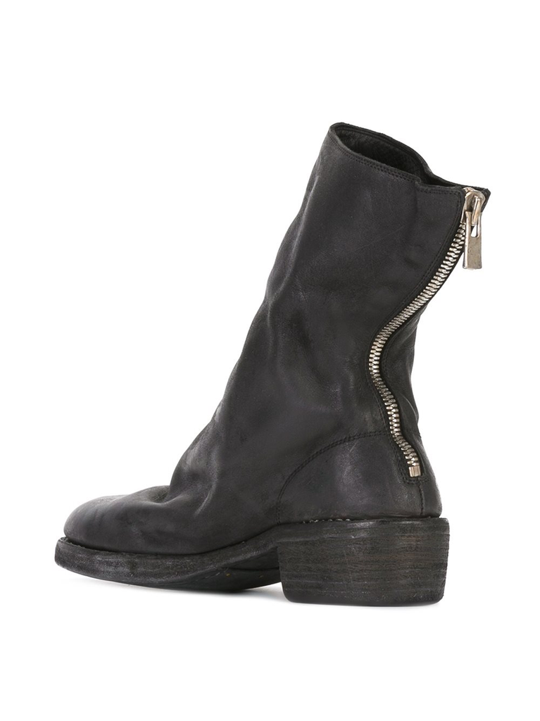 GUIDI WOMEN 788Z CLASSIC SOFT HORSE LEATHER BACK ZIP BOOT