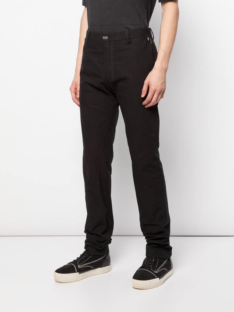 TAICHIMURAKAMI MEN CONDENSED COTTON L-POCKET PANTS
