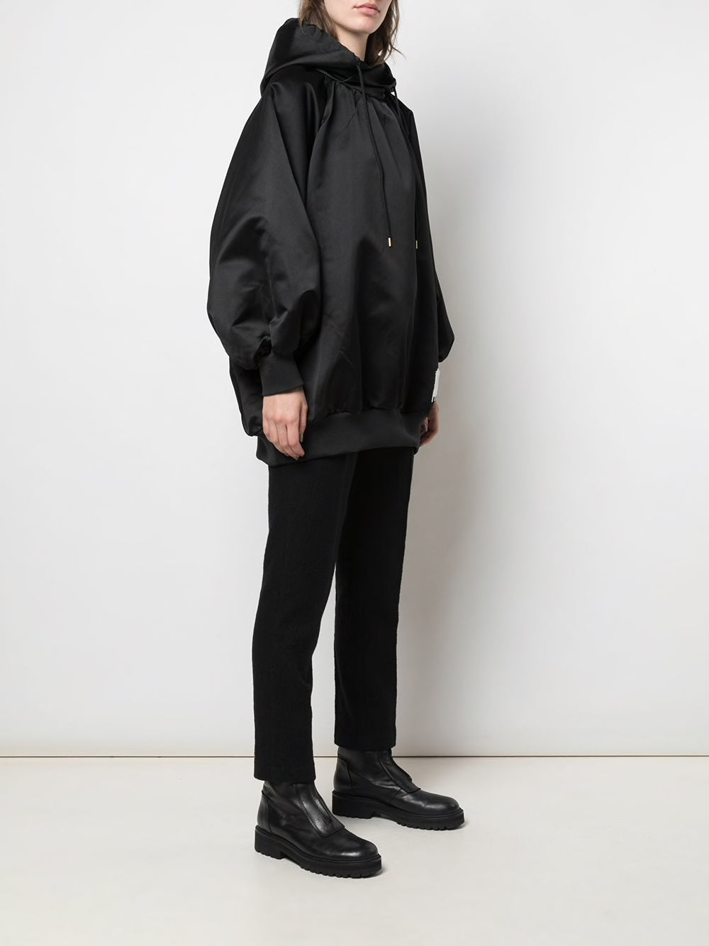 UNDERCOVER WOMEN OVERSIZED PONCHO HOODIE
