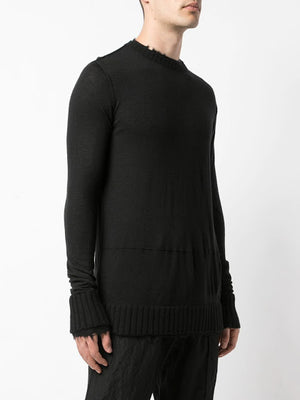 ZIGGY CHEN MEN CREWNECK CASHMERE SWEATER