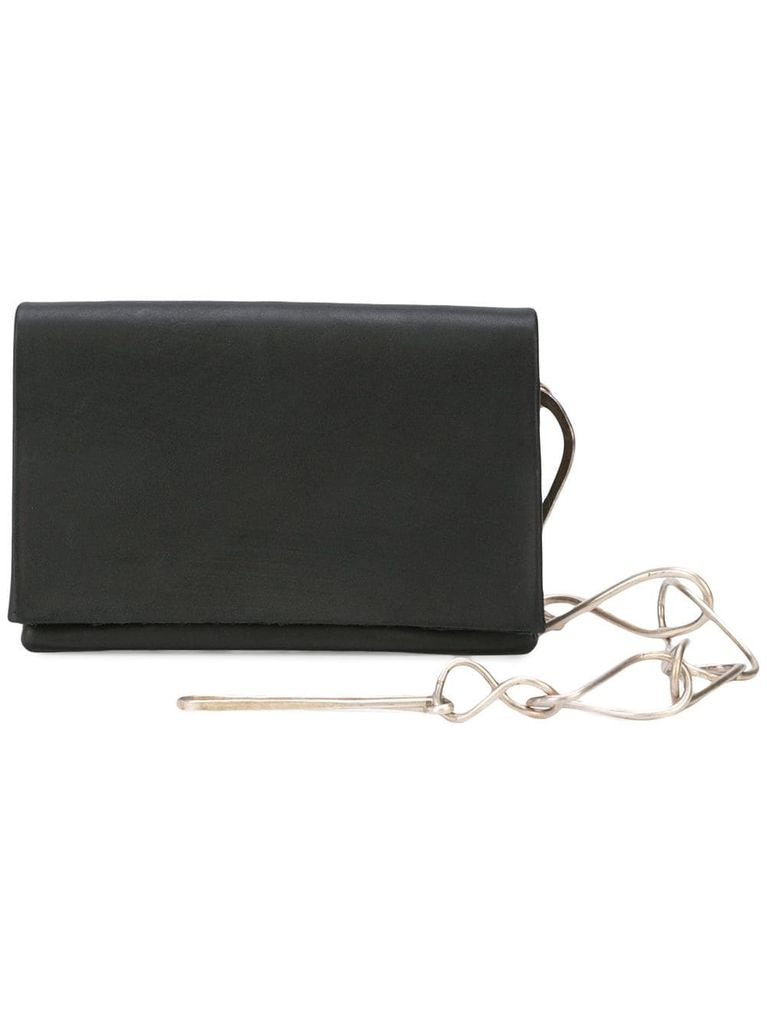 MA+ SMALL WALLET WITH SILVER CHAIN 17