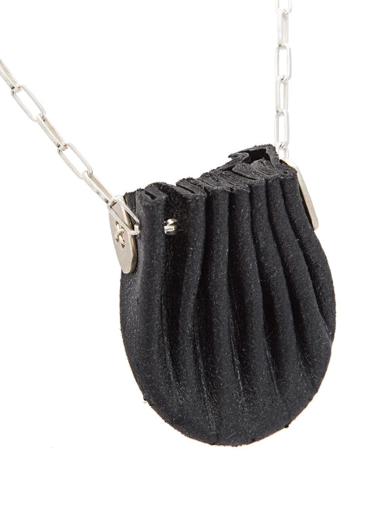 MA+ MINI SHELL POUCH NECKLACE