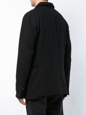 MA+ MEN FRONT AND BACK POCKET MED FIT JACKET