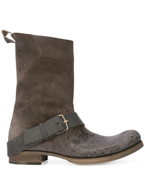 MA+ MEN TALL BUCKLE BOOTS
