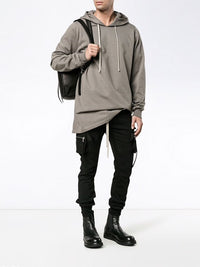 RICK OWENS MEN CARGO JOGGER PANTS