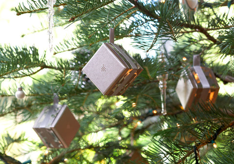 Silver Ornament Gift Boxes