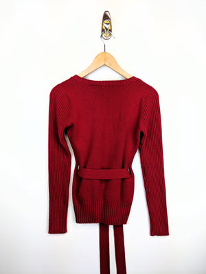 Waist-tied Sweater - Women's (M)