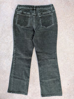 High Waisted Boot Cord Pants (30)