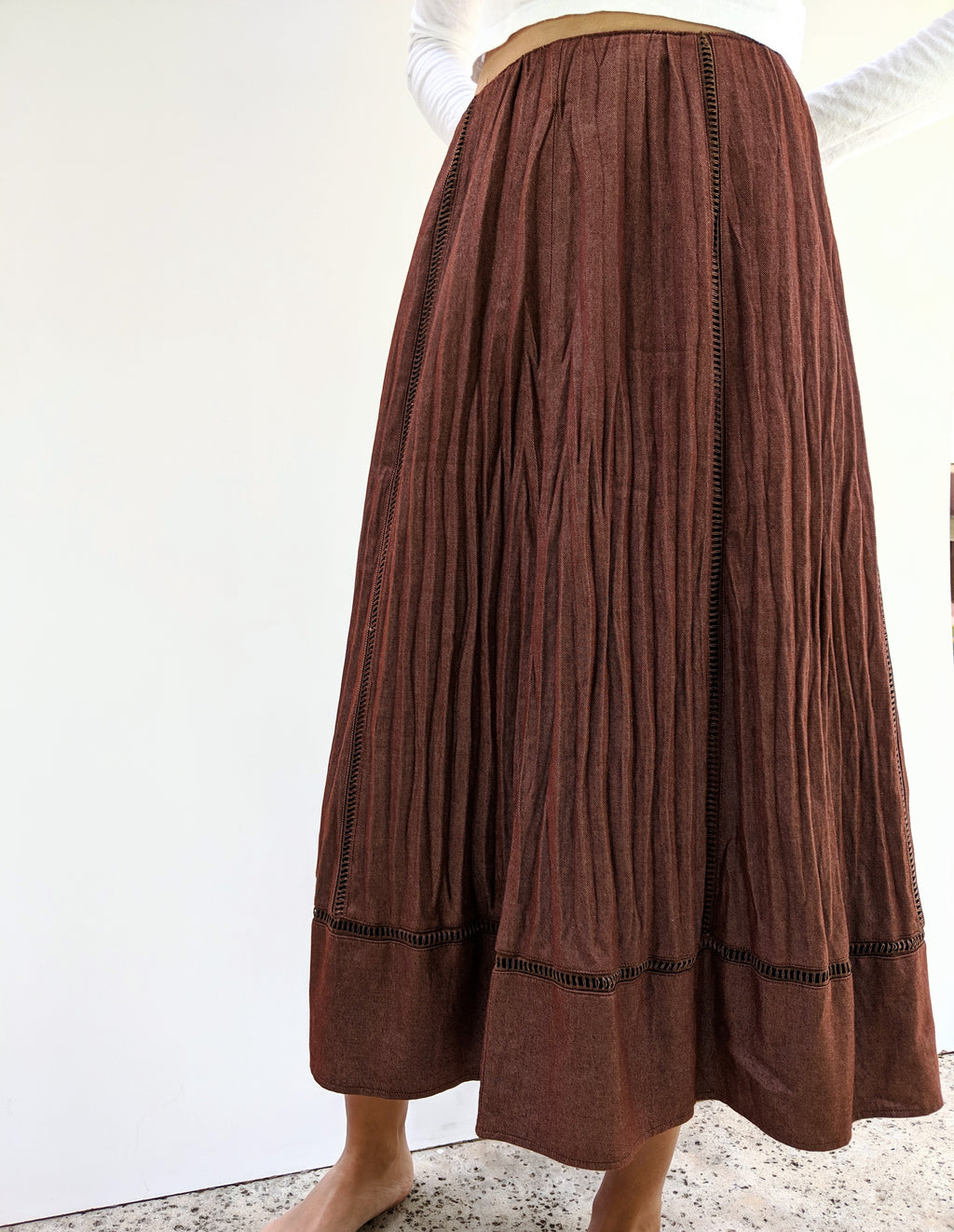 High Wasted Gypsy Skirt (30)