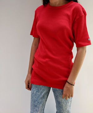 Ribbed C.K. Oversized Tee (S)