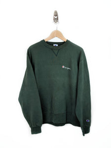 Champion Spellout Stitch Sweatshirt (L)