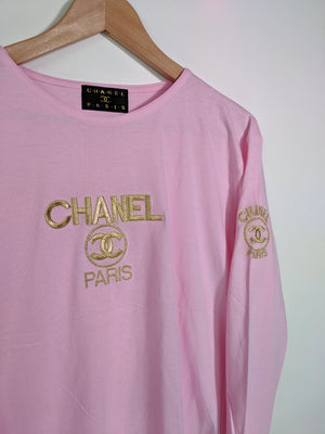 Bootleg Chanel Patch Tee - Women's (L)