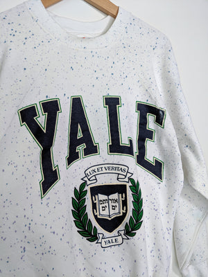 Speckeled Yale Sweatshirt (XL)