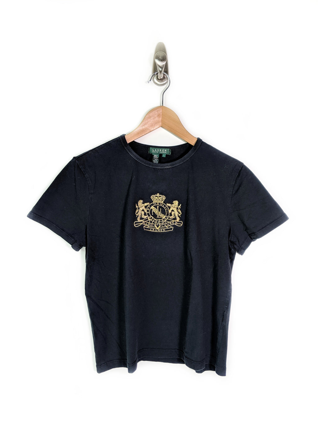 L.R.L. Embroidered Tee - Women's (L)