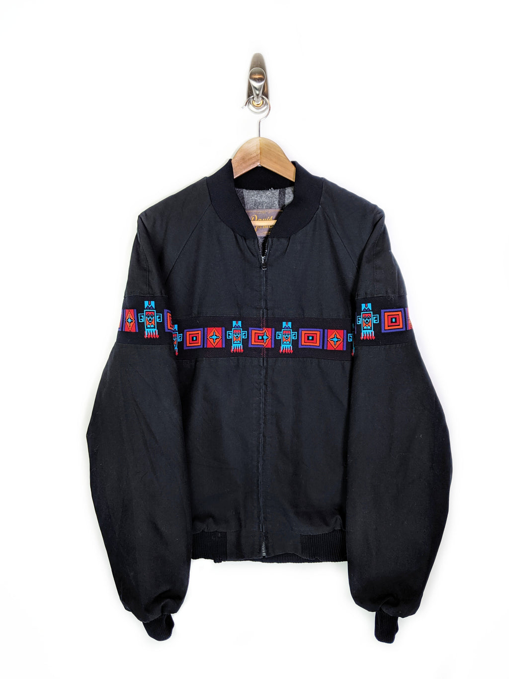 Aztec Stripe Canvas Jacket (L)