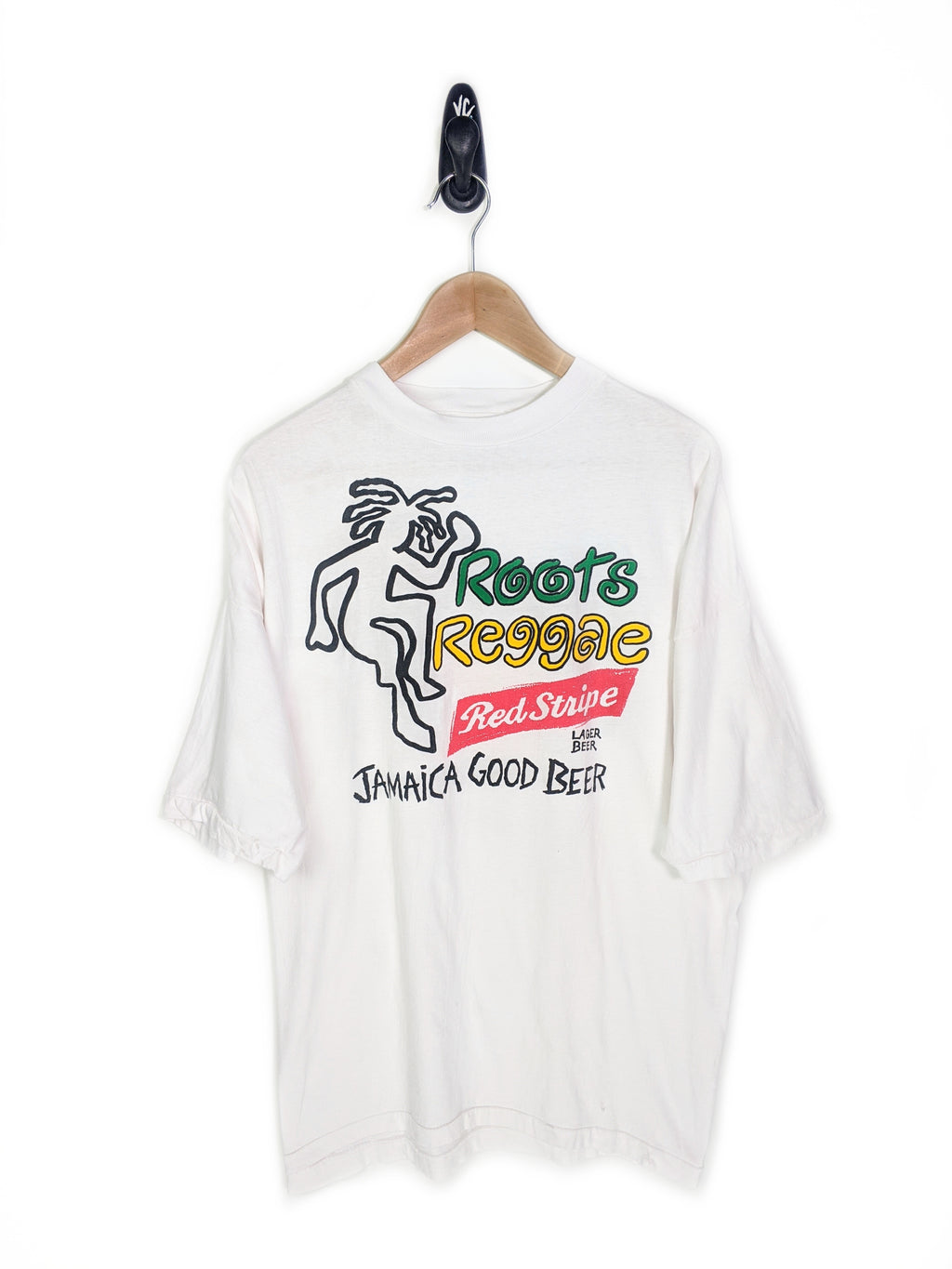 Roots Reggae Red Stripe Beer Tee (XL)