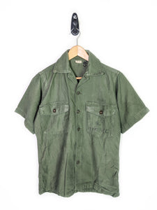 USMC Issued Frayed Button Up (M)