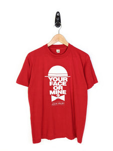 Your Face or Mine Tee (S)
