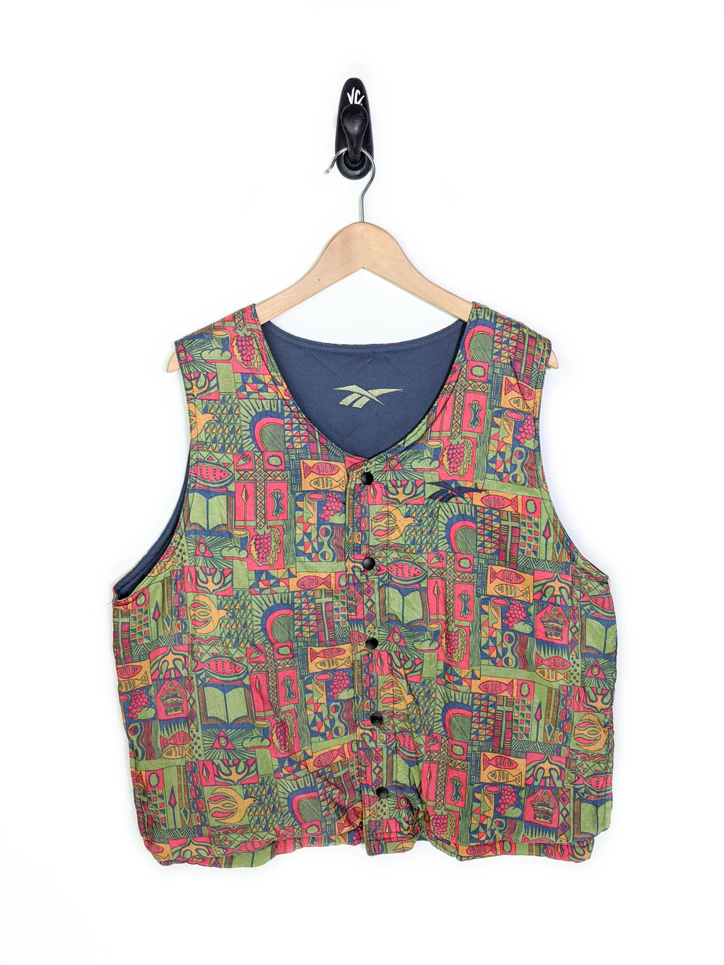 90's Wild Graffiti Reversible Vest (L)