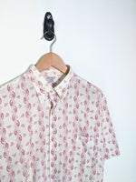 Vintage Short Sleeve Button Down (XL)