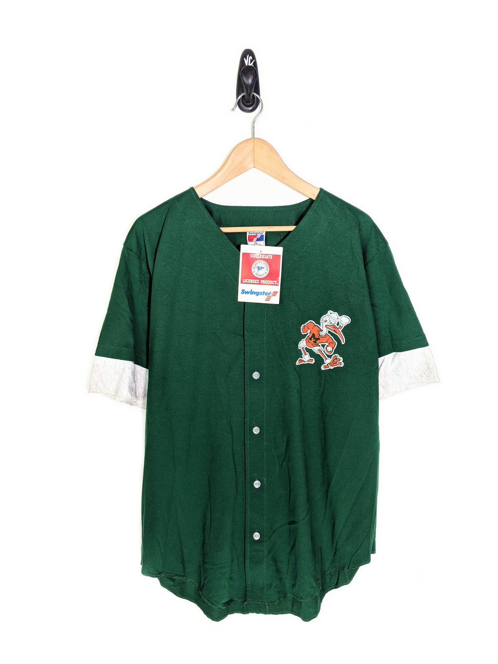 90's Miami Hurricanes Baseball Shirt (XXL)
