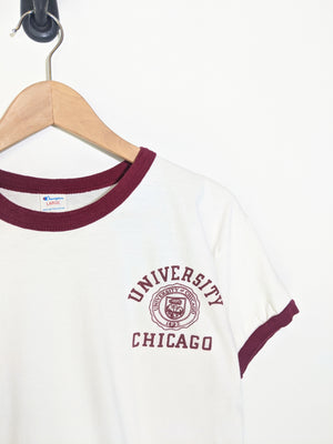 80's U. of Chicago Ringer Tee (S)