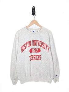 Vintage Boston University Sweatshirt  (XL)