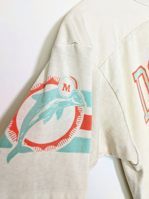 80's Miami Dolphins Replica Jersey Tee (M)