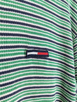 Tommy Flag Striped Tee (M)