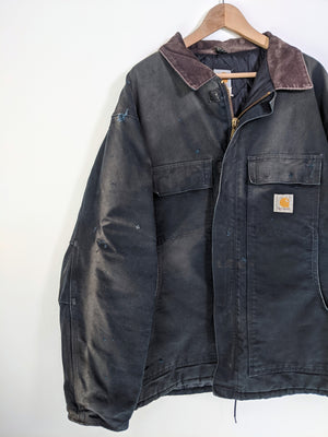 Sun Fade Quilted Chore Jacket (XL)
