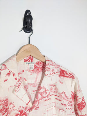 80's Hawaiian Shirt (M)