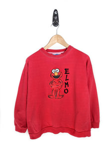 Elmo Fuzzy Patch Sweatshirt (M)